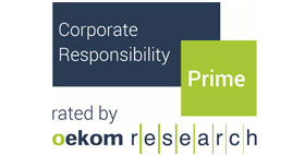 Corporate Responsibility Prime by Oekom Research
