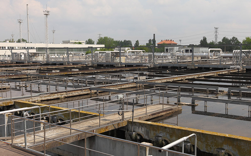 Waster water treatment facilities